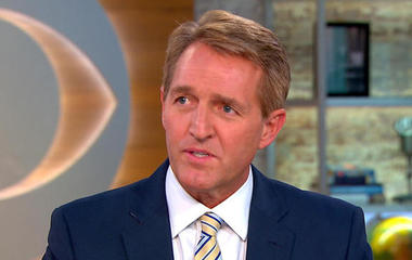 Sen. Jeff Flake on GOP issues and predicament of element