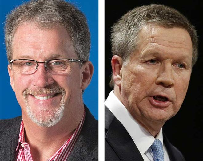 Mark Kvamme stays resolutely in a John Kasich overlay with voter-targeting