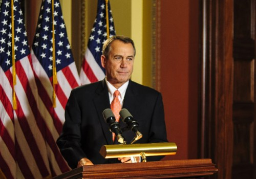 Boehner Says House Will Pass Plan B Thursday