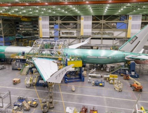 Boeing's first 777X jet will roll out of Everett factory in March (Photos)
