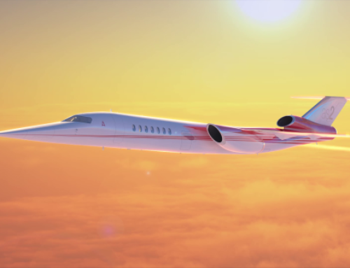 Peek inside the supersonic jet Boeing just backed (gallery)