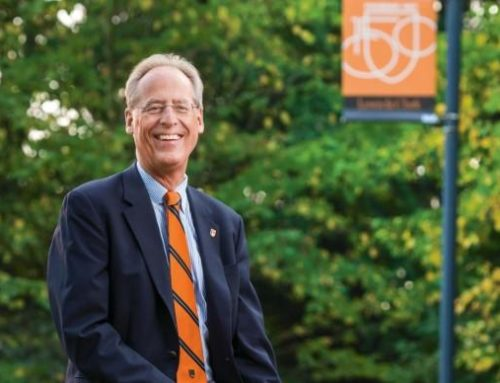 Wim Wiewel talks small college issues, entrepreneurship and Lewis & Clark's community connections