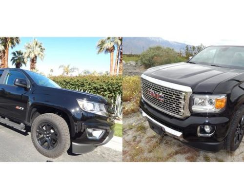 C-Suite Rides: GM tries to enhance midsize trucks Colorado and Canyon (Photos)