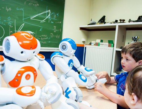 How he is using robots to help children with autism